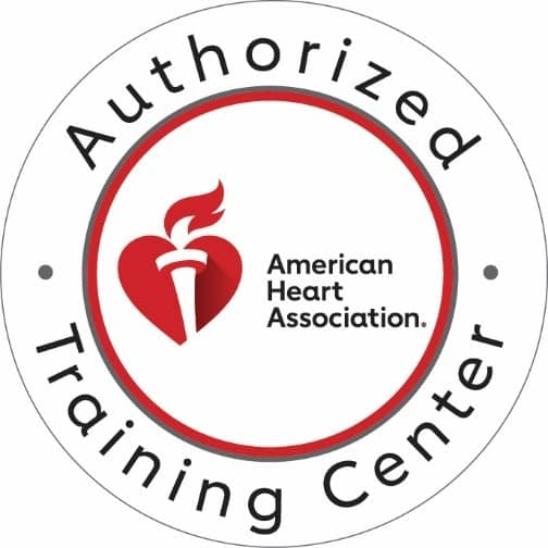 We are an authorized American Heart Association Training Center